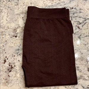French Laundry Brown Legging tights Size L